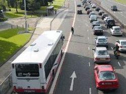 В 2012 году в Москве появятся специальные полосы для общественного транспорта