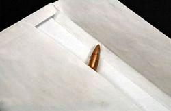 В Москве правоохранители завели дела по факту угроз в виде почтовых писем с пулями