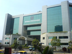 Здание Национальной фондовой биржи Индии