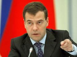 Куда Медведев обещает послать правительство?