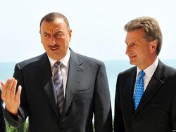 Президент Азербайджана встретился с энергетическим еврокомиссаром