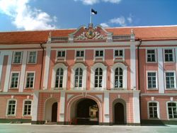 Что хотят пикетчики от эстонского парламента?