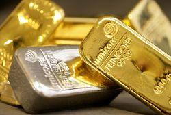 Инвесторам: золото находится в нисходящем движении