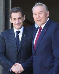 Назарбаев и Саркози