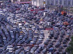 пробки на дорогах Москвы
