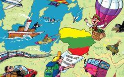 Стартовала акция «Пригласи друга в Литву»