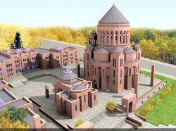 В недостроенном здании Армянской церкви произошел пожар