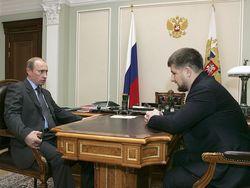 Владимир Путин пообещал Кадырову приехать в Чечню
