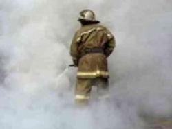 Огонь охватил Криворожский торговый центр