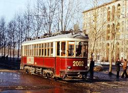 В Москве состоялся парад ретро-трамваев