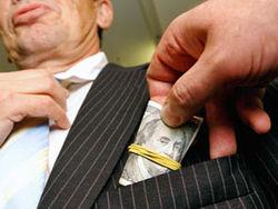 В Киеве поймали ещё одного коррумпированного чиновника