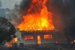 Семья сгорела в пожаре, на территории Харьковской области
