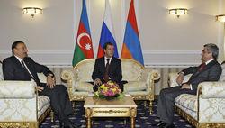 Серж Саргсян, Ильхам Алиев, Дмитрий Медведев