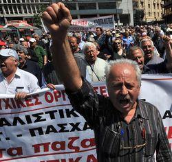 В Афинах стартовали акции протеста против проводимой властями политики