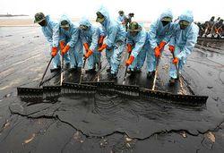 утечка на нефтепроводе
