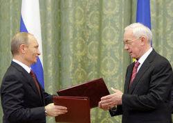 Путин и Азаров