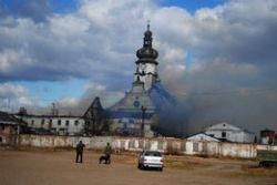 Названы основные версии возгорания в колонии на Львовщине