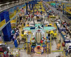 Lockheed Martin расширяет завод по изготовлению деталей для F-35