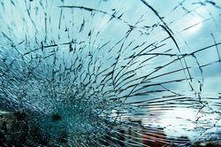 В столице Украины легковушка протаранила джип