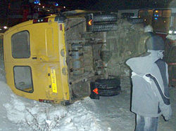 В Ровенской области в аварию попала команда альпинистов