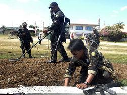 Кто, помимо цели, стал жертвой филиппинских военных?