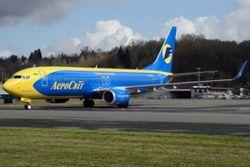 Для «Аэросвита» доставлен первый «Боинг» нового поколения