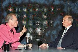 Лари Кинг и Владимир Путин