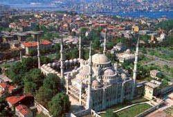Голубой мечети (СултанАхмет) в Стамбуле