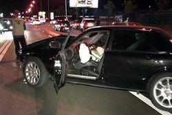 Автомобиль атташе Швейцарии протаранили прямо в центре Москвы