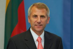 глава МИД Литвы