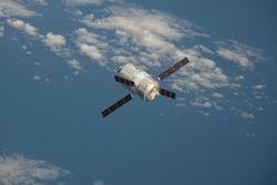 Европейский «грузовик» ATV-4 удачно произвел стыковку с МКС