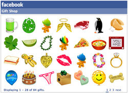 Акции Facebook