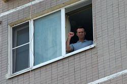 Завершение обыска у Навального