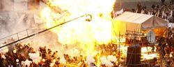 Взрыв воздушных шаров