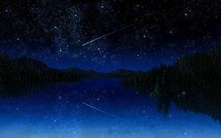 Красочный звездопад