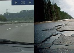 Ремонт дорог в Украине перекинут на плечи местных властей