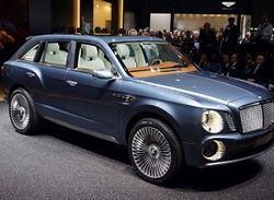 Volkswagen инвестирует в производство внедорожника Bentley EXP 9 F