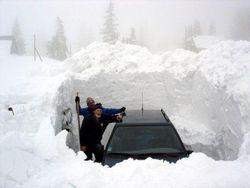 Москве уже грозит первый снегопад