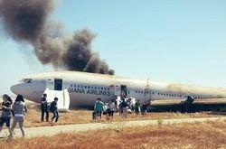 Авиакатастрофа Boeing-777 в Сан-Франциско