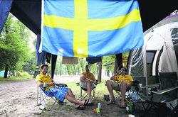 Болельщики из Швеции
