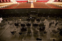 Оркестровая яма Большого театра