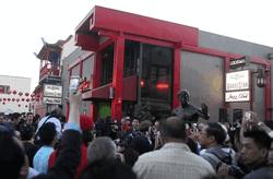 Открытие памятника Брюсу Ли в Лос-Анджелесе