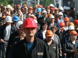 митингующие металлурги