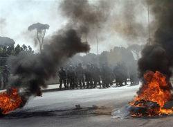 массовые беспорядки в Ливане