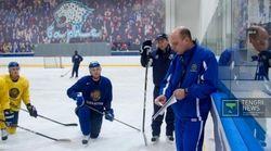 Поражение Казахстана в стартовом матче ЧМ по хоккею