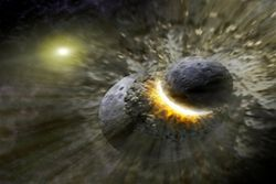 Черная дыра в нашей галактике съест газовое облако