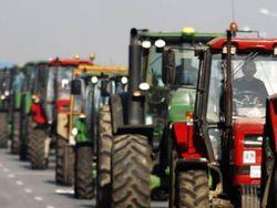 фермеры заблокировали дороги