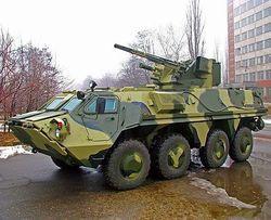 Четверть средств с продажи украинских БТР