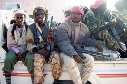 Число случаев сомалийского пиратства
