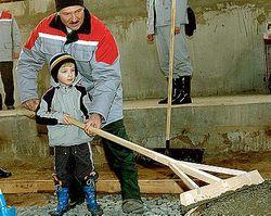 Что Лукашенко сделал на субботнике?